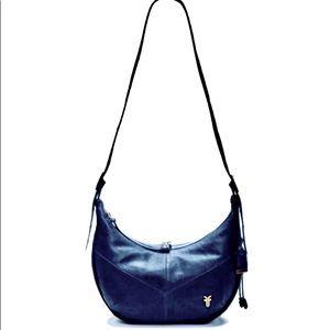 Frye Belle Bohemian Leather Hobo Shoulder Bag!💐 👜